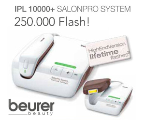 Beurer Salon Pro IPL 10000+ 250000 flash