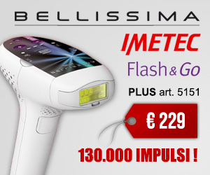 offerta speciale imetec bellissima flash and GO PLUS 5151