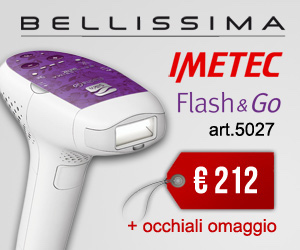 Offerta speciale imetec bellissima flash and GO