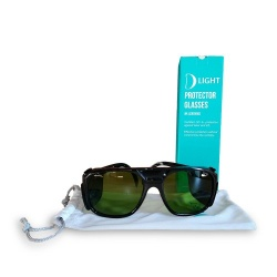 Occhiali protettivi D Light certificati luce pulsata (IPL) e laser