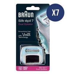Cartuccia Refill per Braun Silk Epil 7 Wet & Dry Dual art. 7891